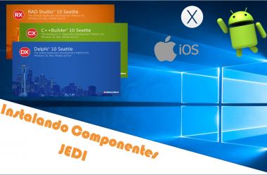 Instalando Componentes JEDI pelo GetIt Package Manager