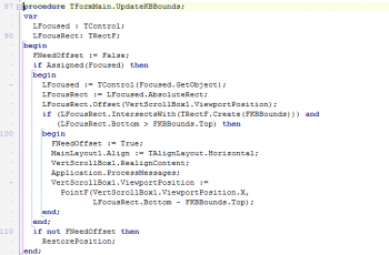 TVertScrollBox, aprenda a evitar que o teclado virtual encubra seus controles