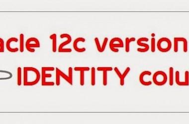 Oracle 12c – Campos Auto Incremento (Identity)