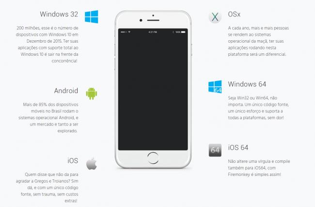 Programe para Android e iOS com um único fonte