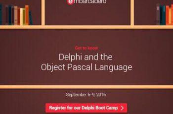 Delphi Boot Camp, está chegando a hora!