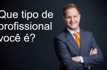 Que tipo de profissional você é?