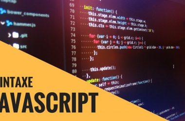 Conheça de perto a sintaxe básica do Javascript